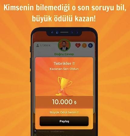Oyna Kazan Bilgi Yarışması