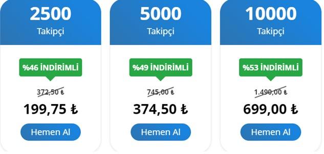 TikTok Takipçi Satın Alma Fiyatları