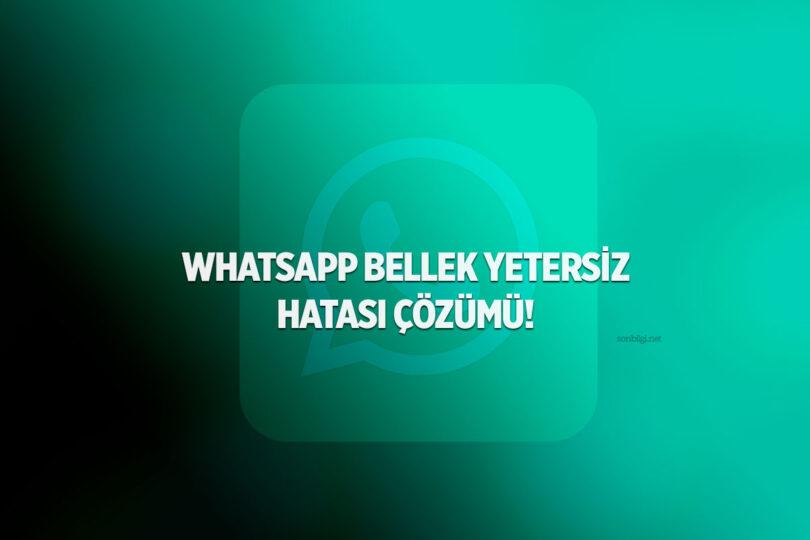 Whatsapp Bellek Temizleme
