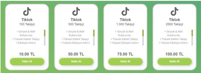TikTok'ta Nasıl Takipçi Satın Alırım?